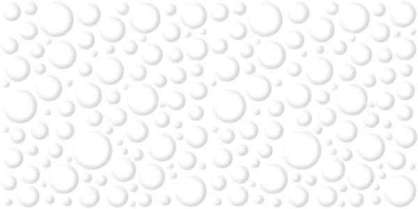 - 300 × 600 مم (12 × 24 بوصة) - 50-Bubble-White