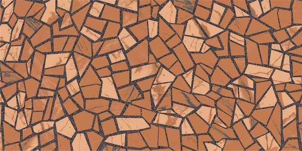 - 600 × 1200 مم (24 × 48 بوصة) - rock-mosaic-brown-1