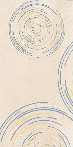 - 600 × 1200 مم (24 × 48 بوصة) - ceres-crema-decor